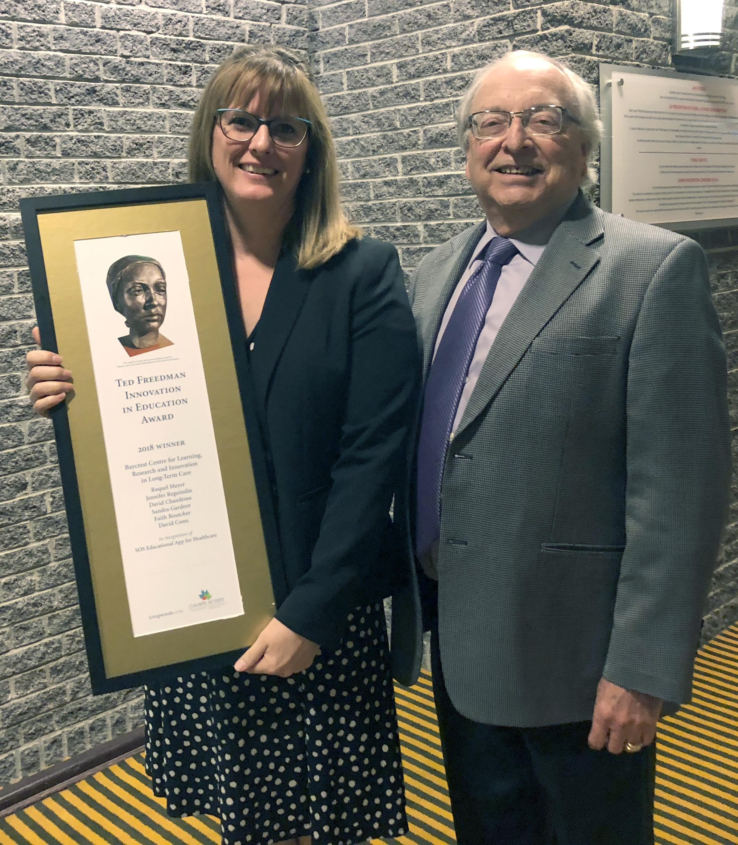 Ted Freedman Award 2018