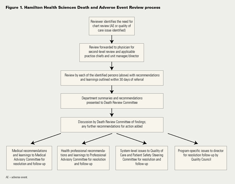 Medical Chart Review Process: Aiming for Zero Preventable Deaths: Using Death Review to Improve ,Chart