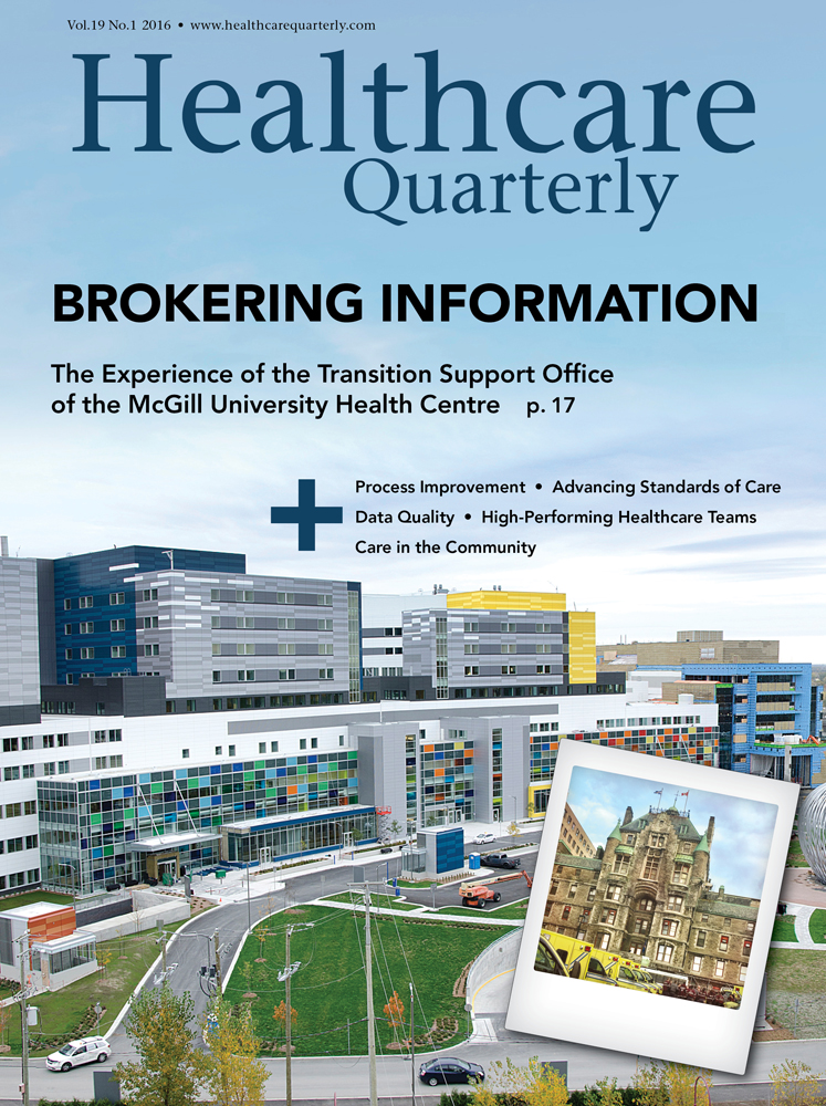 Healthcare Quarterly